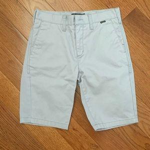 Hurley light grey shorts